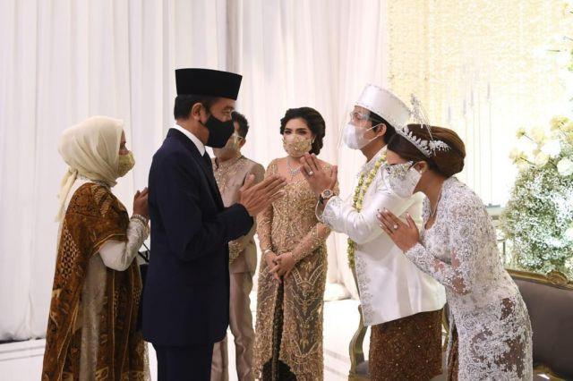 Atta Halilintar Resmi Nikahi Aurel, Jokowi dan Prabowo jadi Saksi