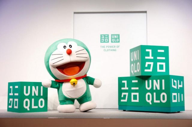 Doraemon Hijau Duta Global Sustainability Ambassador Uniqlo